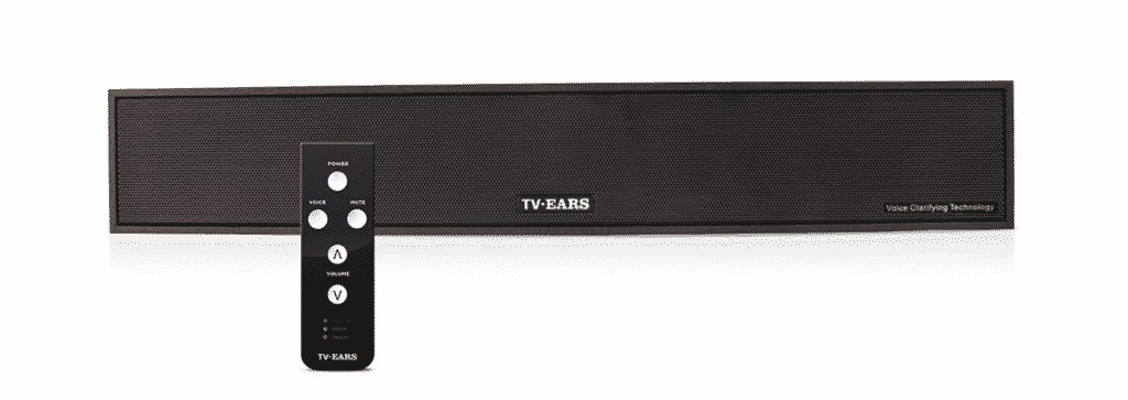 TV Ears Voice Clarifying Sound Bar